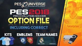 [TTB] PES 2018 - Premier League Option File Showcase - Updated Kits, Stadiums & More!