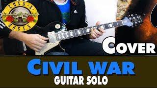Guns N' Roses - Civil War (Guitar Solo) Cover