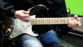 Guitare Liège Calogéro - Un jours au mauvais endroit - cover guitar
