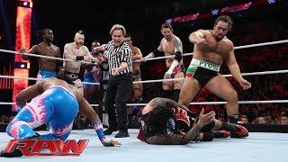 Reigns, Ambrose & The Usos vs. Sheamus, Barrett, Rusev, Del Rio & New Day: Raw, Nov. 30, 2015 width=