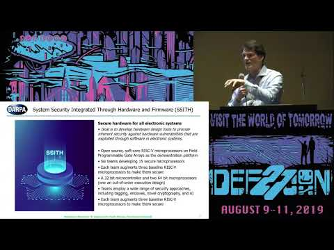 The DARPA SSITH Program at DEFCON