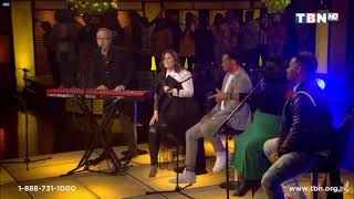Maranda Curtis with Dave & Nicole Binion // Here comes the glory of the lord// TBN LIVE