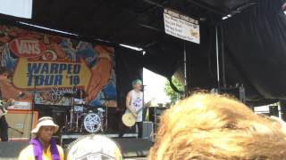 Waterparks- Crave live warped tour 2k16