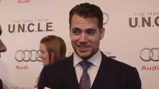 Henry Cavill - The Man from U.N.C.L.E. Red Carpet Interview HD