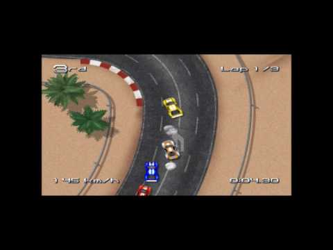 77/99: Rush Rush Rally Reloaded Dreamcast 2017 Game