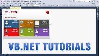 VB.NET Tutorials   Create Custom/Professional UI In WinForms App