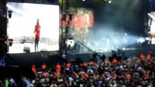 Kasabian - Stuntman @ Wembley Stadium 11th July 2009