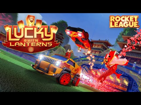 WTFF::: Ring in the Lunar New Year with the Lucky Lanterns event on Rocket League