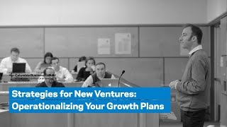 Operationalizing Growth Plans
