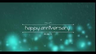 after effect happy anniversary (fahmi hadinata)