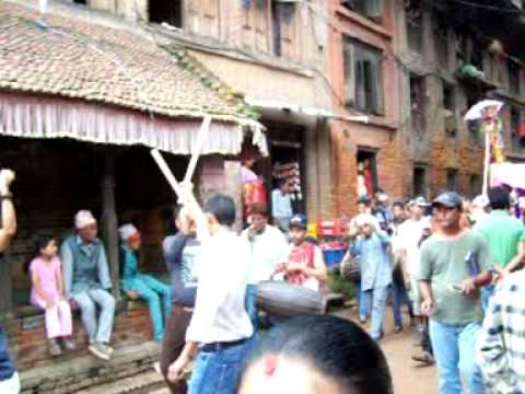 Fiesta del Teej en Bakhtapur