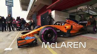 The 2018 F1 Grid: Every Car Hits The Track