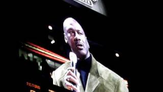 "Micheal Jordan tribute to Johnny ""Red"" Kerr"
