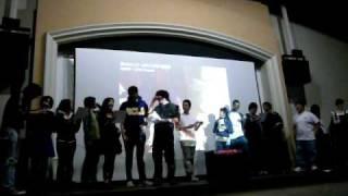 Gong by JAM Project karaoke'd at UCLA's Anime club Winter 2009 Karaoke night.