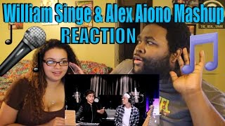 Fake Love, Broccoli & Caroline - Drake, D.R.A.M. & Aminé William Singe & Alex Aiono Mashup) REACTION