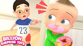 Johny Johny Yes Papa 3D | FAMILY Version | Baby Nursery Rhymes & Kids Songs