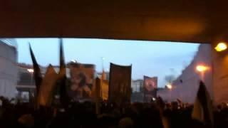 SUPER DRAGÕES na Luz Março 2012 slb 2-3 FCP - O campeão voltou - HD