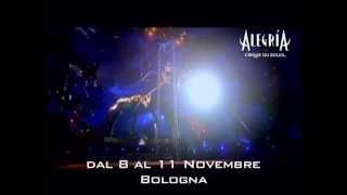 Alegría by Cirque Du Soleil in Italia a Novembre e Dicembre!