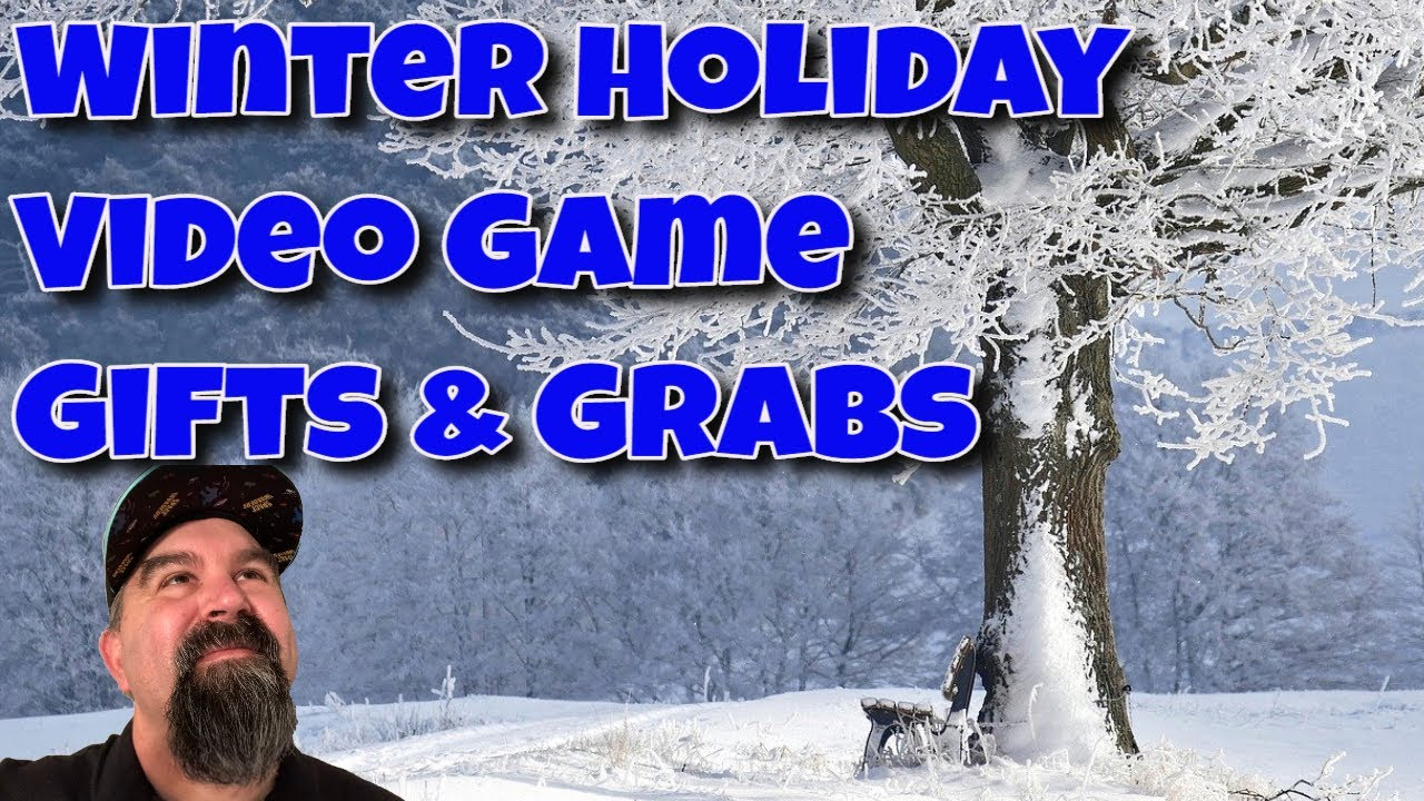 Winter Holiday Video Game Gifts and Grabs