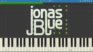 How to play By Your Side - Jonas Blue ft. Raye - Piano Tutorial - Instrumental