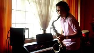 Burn by Ellie Goulding - Sax Cover