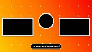 Free professional 2d outro template 2018 ( No text )