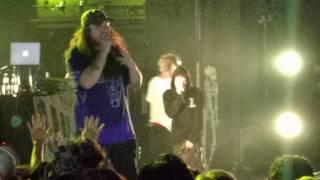 $uicideboy$ ft Pouya - Runnin Thru the 7th With My Woadies (LIVE)