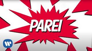 Parei (Lyric Vídeo) - Anitta