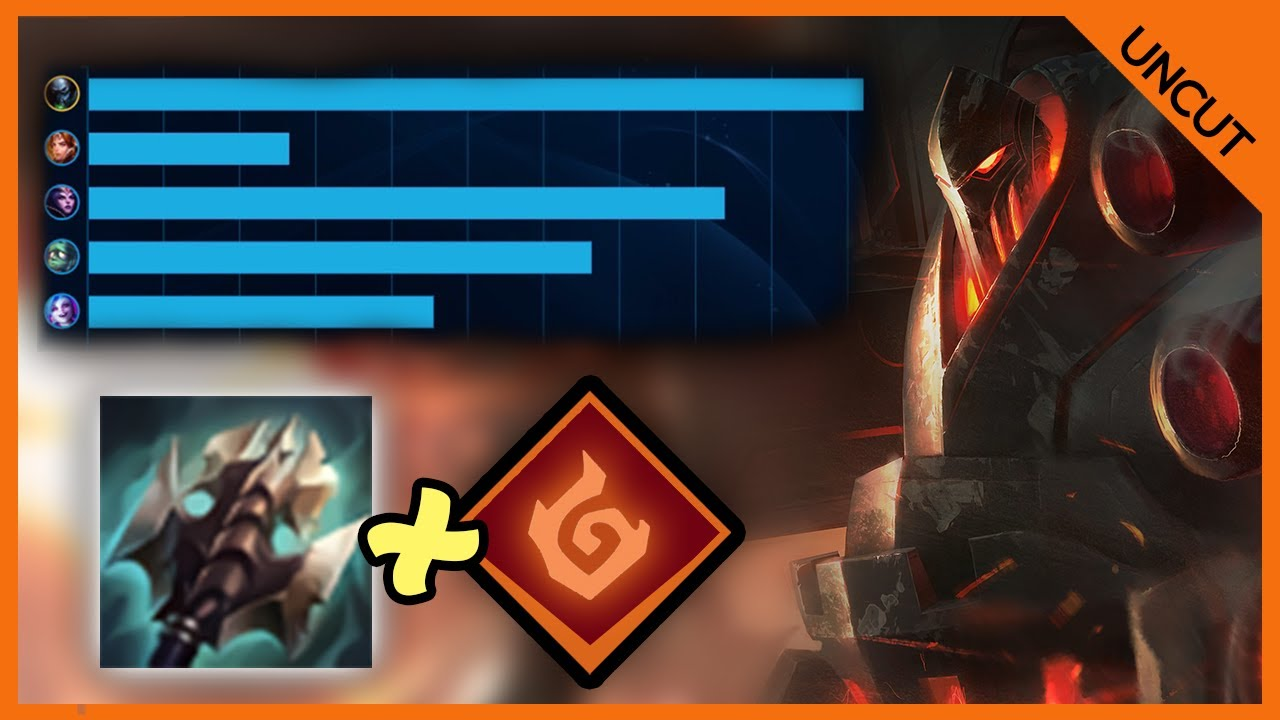 GoliathGames - INFERNAL SOUL AND TITANIC HYDRA TURNED ME INTO AN AOE MACHINE! - HIGH ELO URGOT - League of Legends