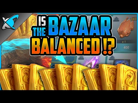 IS THE BAZAAR BALANCED !? | Extra Resources, Timers, Accessories | RAID: Shadow Legends