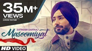 Satinder Sartaaj: Masoomiyat (Full Song)   Beat Minister   Latest Punjabi Songs 2017   T-Series width=