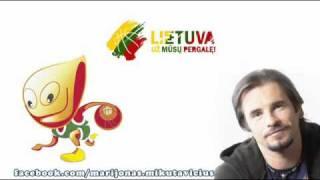 Marijonas Mikutavičius ir Mantas - Krepšinio himnas 2011.mp4