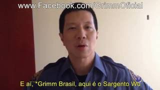 EXCLUSIVO GBO: Reggie Lee deixa recado para fãs brasileiros de Grimm   Grimm Brasil Oficial