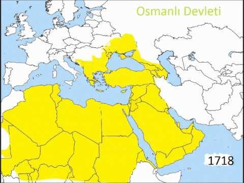 osmanlı gerçek sınırları hareketli harita ve sahte ingiliz harialarına benzemez!!!