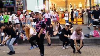 「2016.07.14 Dazzling - DOPE cover 西門町快閃活動」的複本