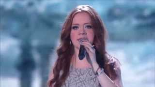 America's Got Talent 2015 - Daniella Mass Colombian Singer Covers Crying by Roy Orbison