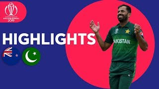 Babar Azam Hits 101* | New Zealand vs Pakistan - Match Highlights | ICC Cricket World Cup 2019