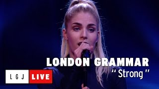London Grammar - Strong - Live du Grand Journal