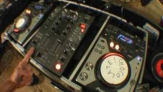How to do a spin back on a CDJ turntable video 2