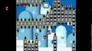 Mario na Fase do Cogumelo do Sol Extreme. (ZéGraça)