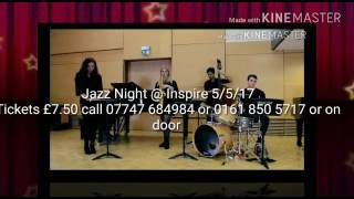 Live Jazz night at Inspire contact 07747 684984