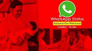 WhatsApp Status | Aalapirantha Maharasa | ஆளப்பிறந்த மகராசா | Dhinakaran 24x7