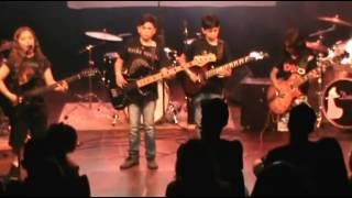 Filhos do Rock - Paranoid (Black Sabbath) Cover infantil