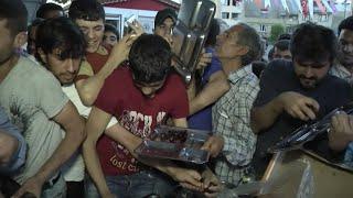 Syrian Refugees Spend Ramadan in Turkey width=