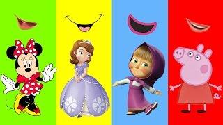Encontre a Personagem Peppa Pig Masha Minnie Princess Sofia Tia Fla