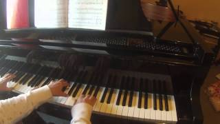 "Gavotte from ""Classical Symphony"" by Serge Prokofieff  The Joy of Piano Duets"