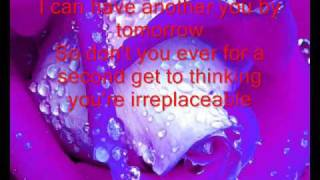 GATH's cover on the song Irreplaceable + Lyrics