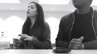 Over and Over Again - Nathan Sykes ft. Ariana Grande | Cover by Sara and Izzy