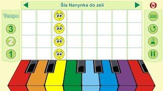 Smillingo - Šla Nanynka do zelí | Pesničky pre deti | Zábavná aplikácia pre deti
