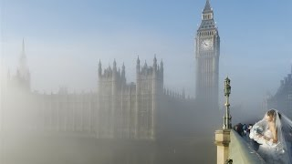 A Foggy Day In London Town feat. Images of Westminster Bridge Karaoke Instrumental with Guide Vocals
